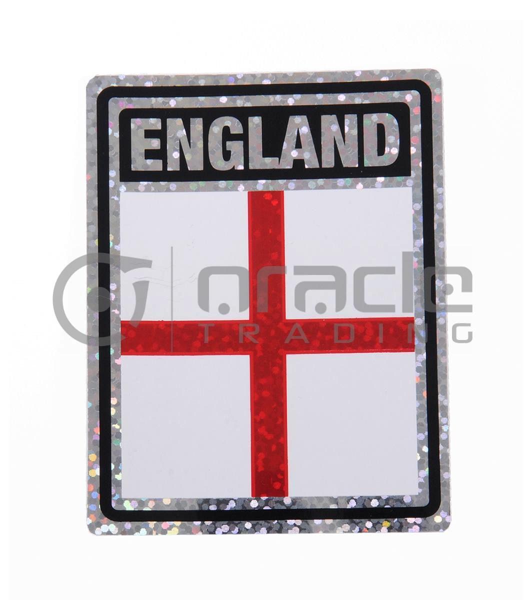 England Square Bumper Sticker