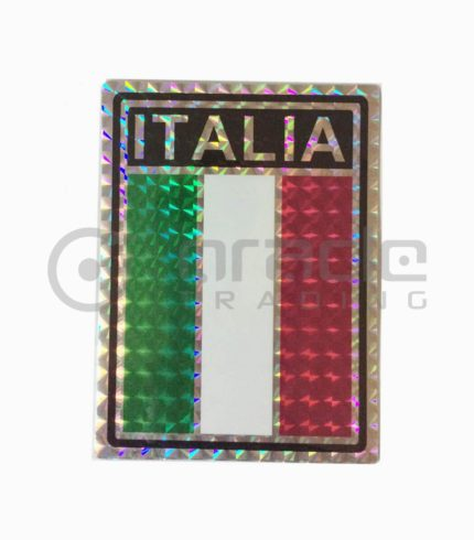 Italia Square Bumper Sticker
