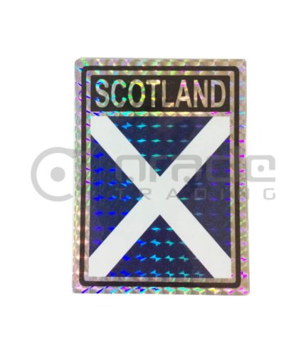 Scotland Square Bumper Sticker (St. Andrew's Cross)