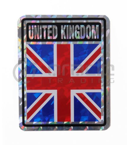 UK Square Bumper Sticker (United Kingdom)