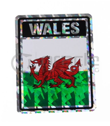 Wales Square Bumper Sticker