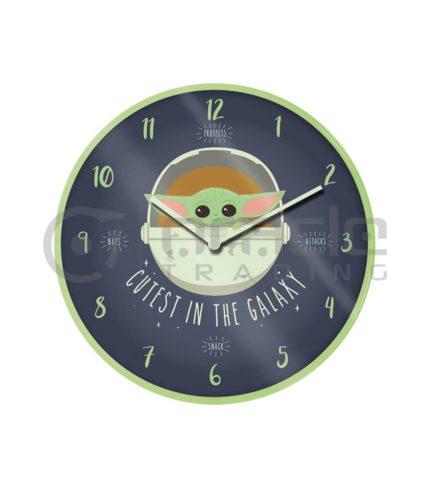 Star Wars: The Mandalorian Wall Clock