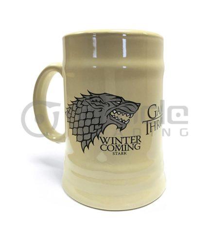 Game of Throne Stark Ceramic Stein