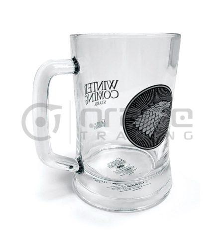 Game of Thrones Stark Glass Stein