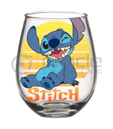 Lilo & Stitch Stemless Glass - Stitch Sunset