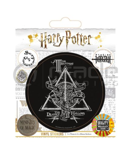 Harry Potter Vinyl Sticker Pack - Hallows