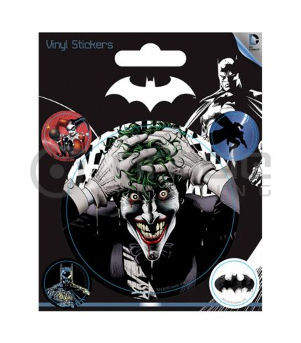 Batman Joker Vinyl Sticker Pack