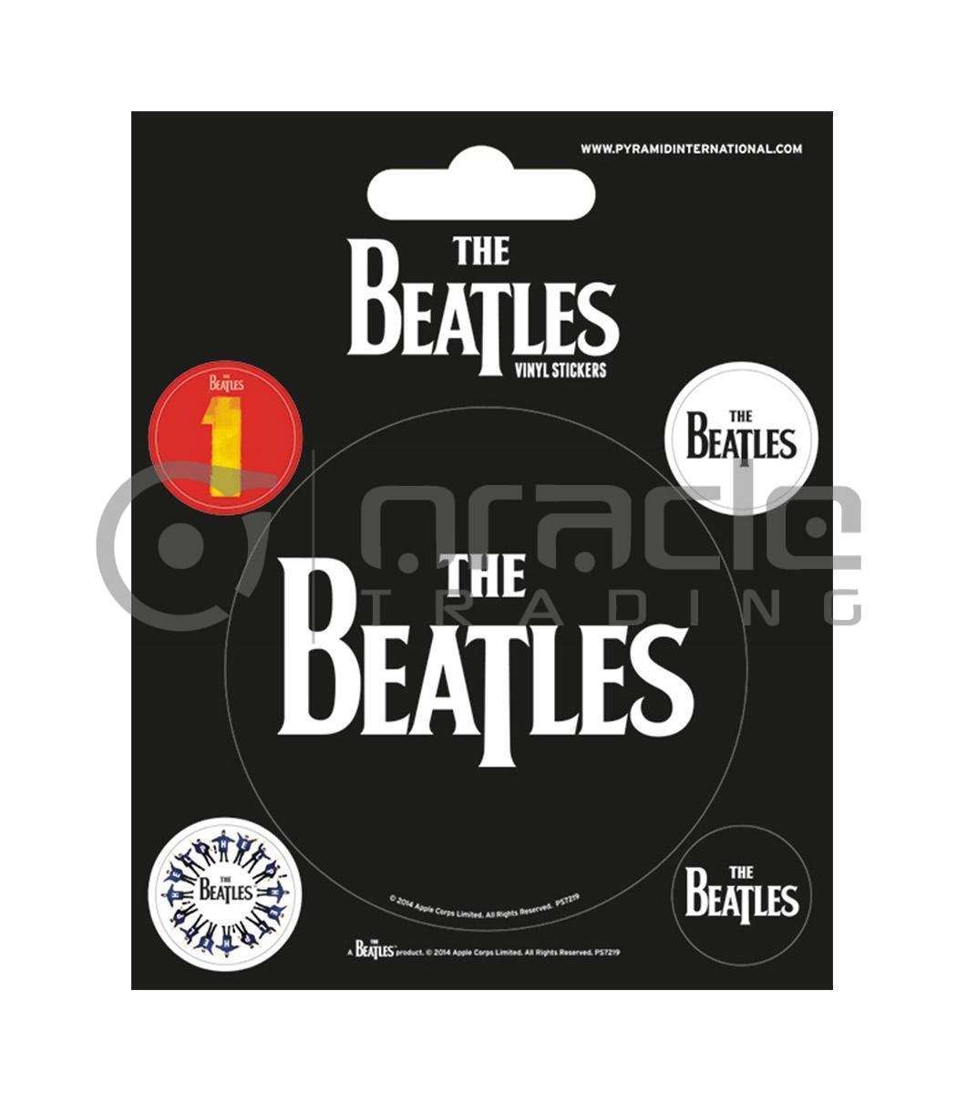The Beatles Vinyl Sticker Pack - Classic