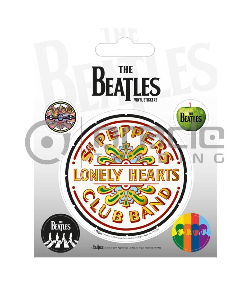 The Beatles Vinyl Sticker Pack - Sgt. Pepper