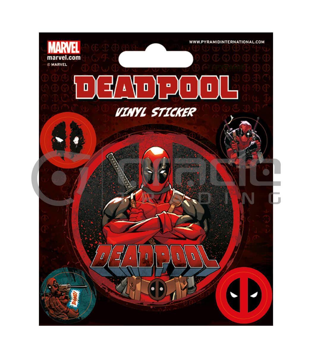 Deadpool Vinyl Sticker Pack