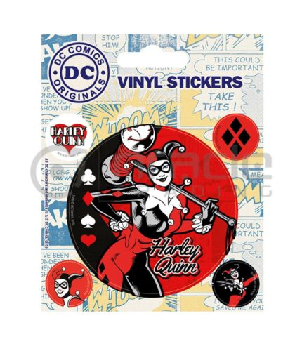 Harley Quinn Vinyl Sticker Pack
