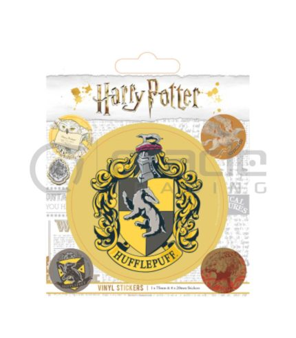 Harry Potter Hufflepuff Vinyl Sticker Pack