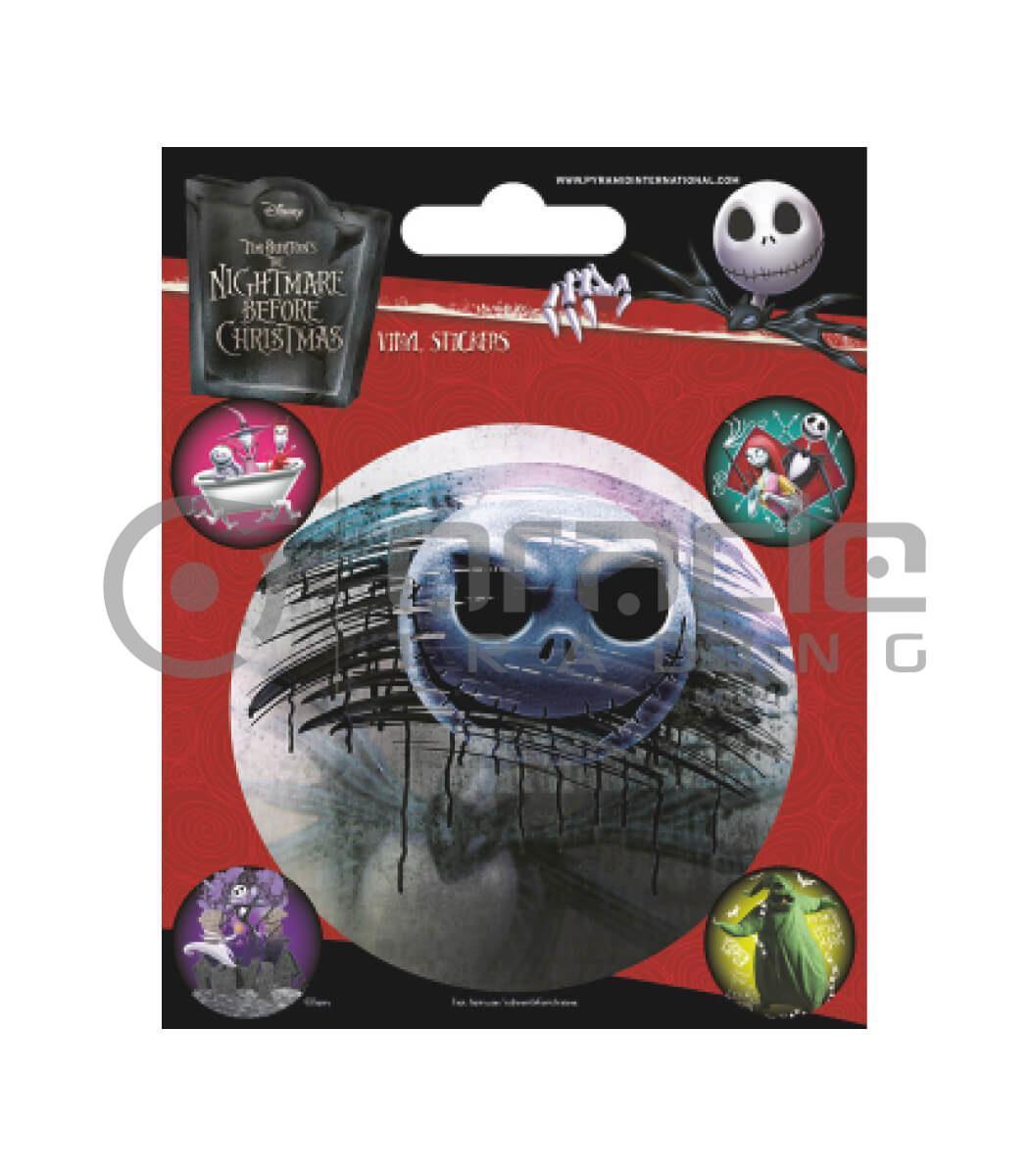 Nightmare Before Christmas Vinyl Sticker Pack