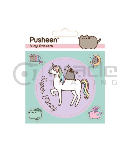 Pusheen Vinyl Sticker Pack - Unicorn