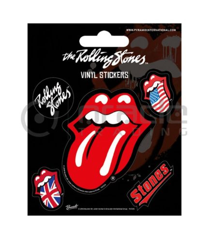 Rolling Stones Vinyl Sticker Pack