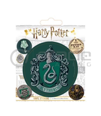 Harry Potter Slytherin Vinyl Sticker Pack