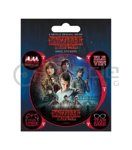 Stranger Things Vinyl Sticker Pack