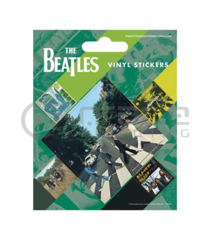 The Beatles Vinyl Sticker Pack