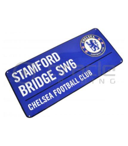 Chelsea Street Sign - Blue