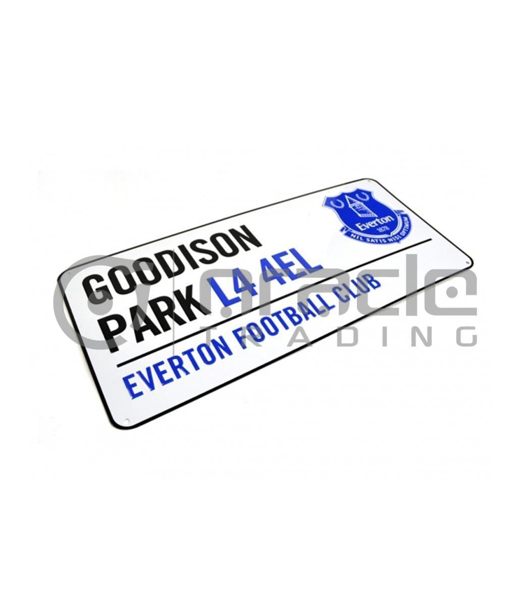 Everton Street Sign