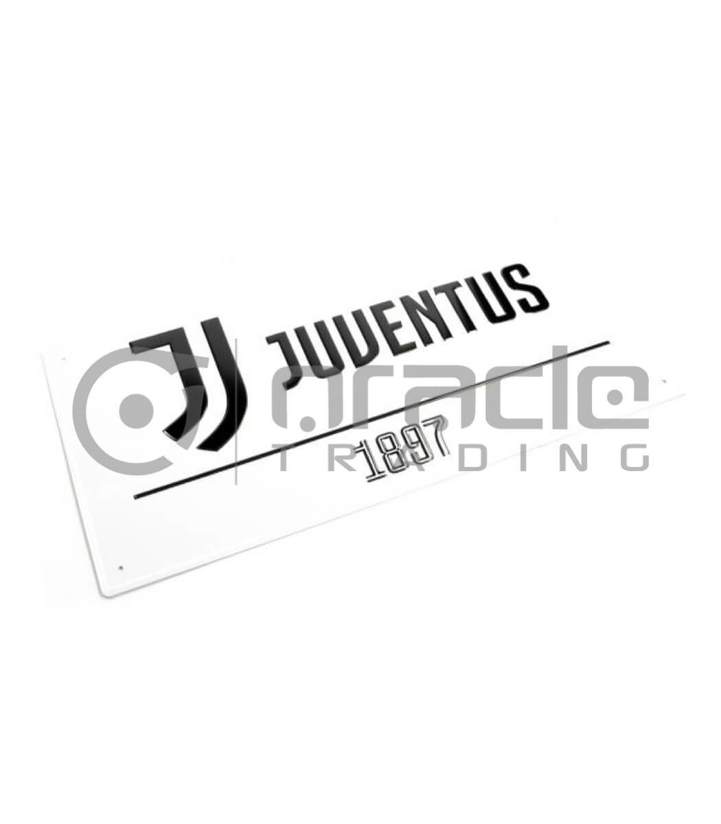 Juventus Street Sign