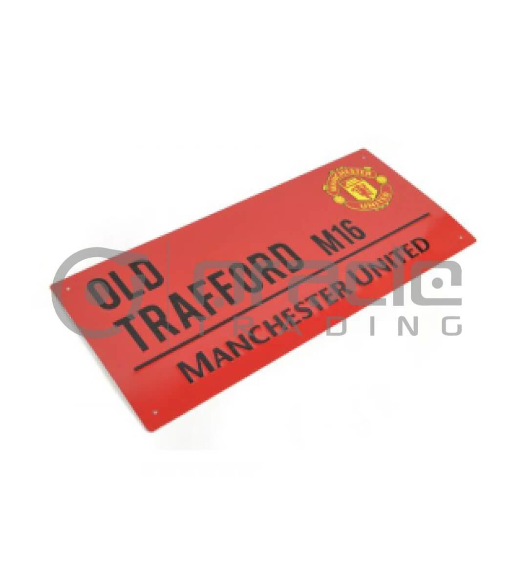 Manchester United Street Sign - Red