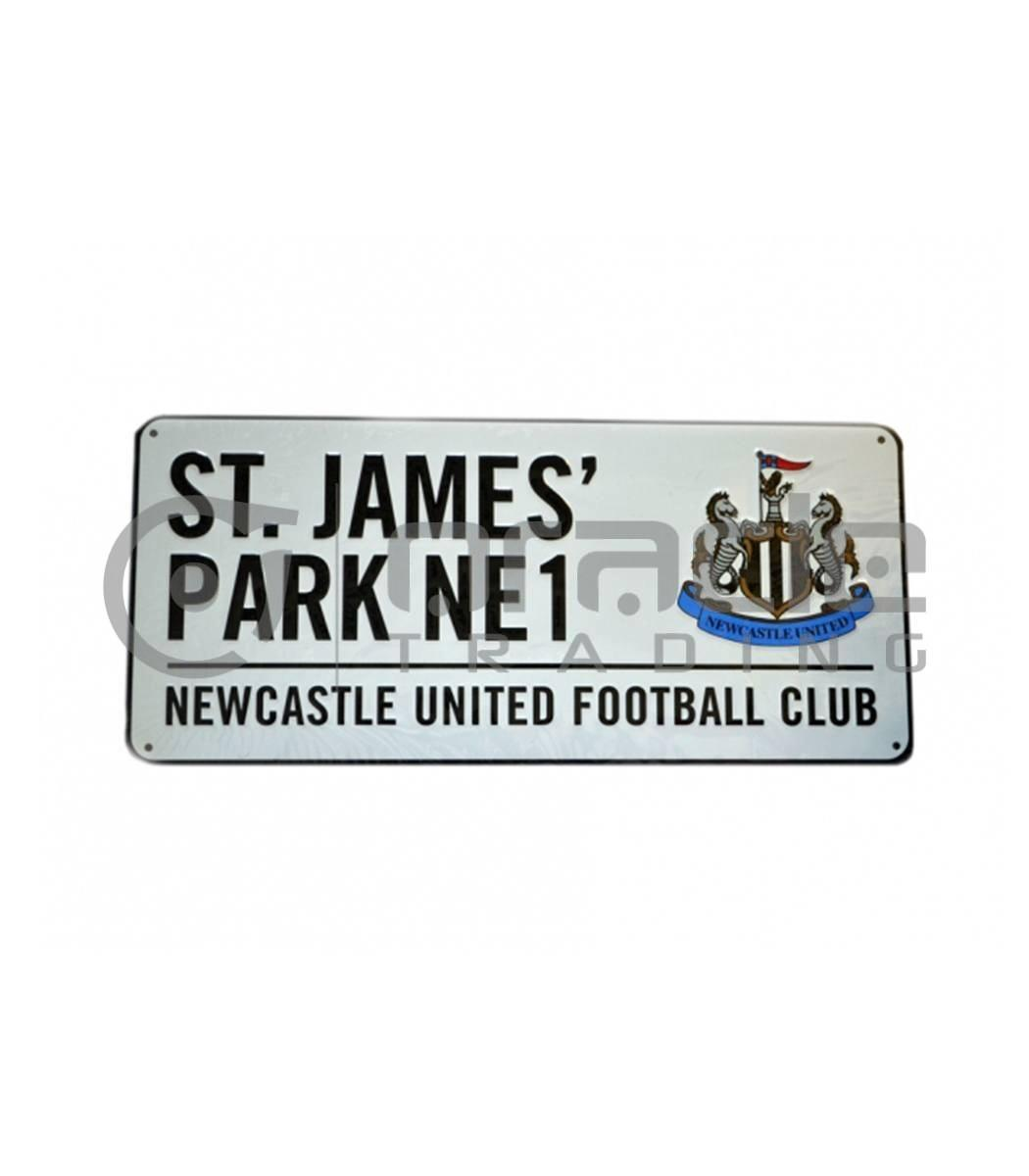 Newcastle Street Sign