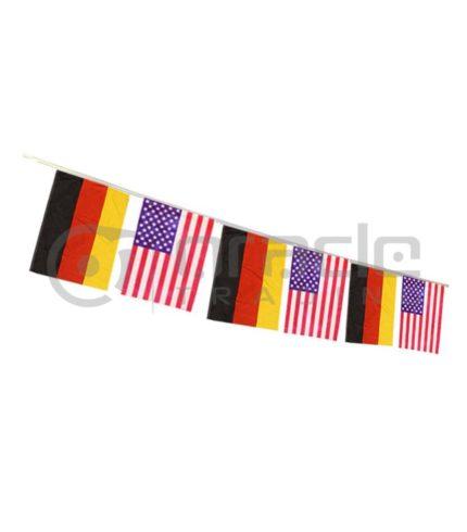 German American String Flag