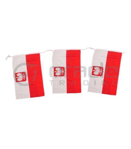 Poland String Flag