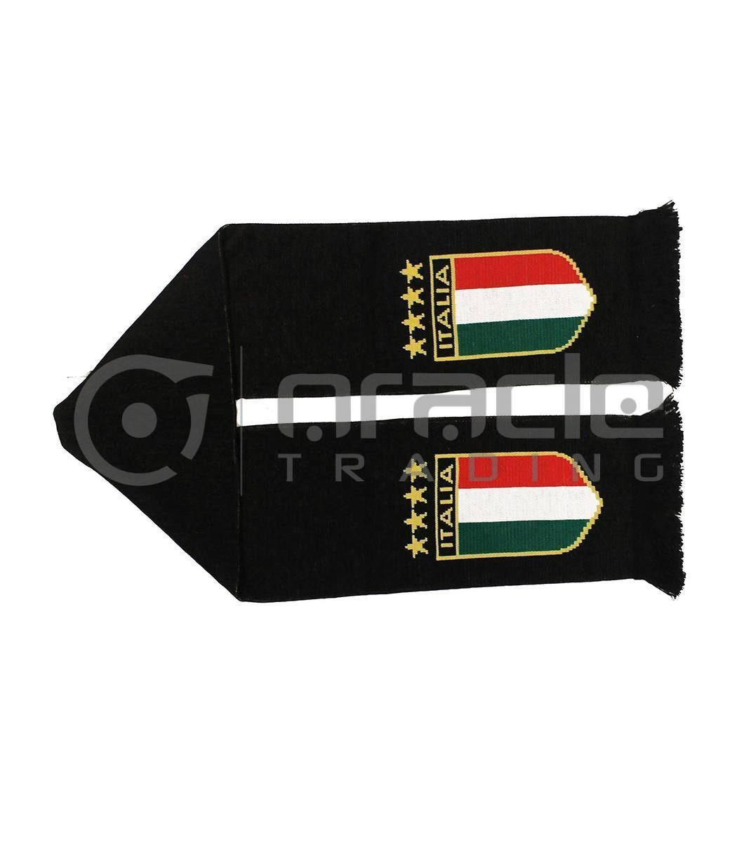 Italia Black Edition UK-Made Scarf