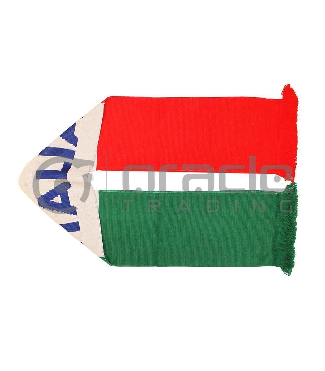 Italia Tri-Colour UK-Made Scarf