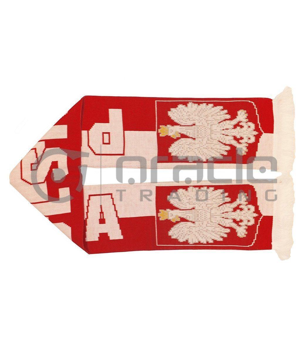 Poland UK-Made Scarf - Polska