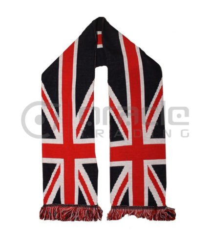Union Jack UK-Made Scarf