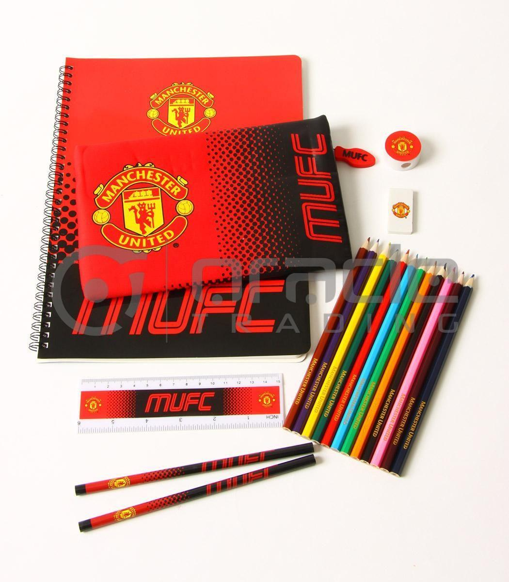 Manchester United Ultimate Stationery Set