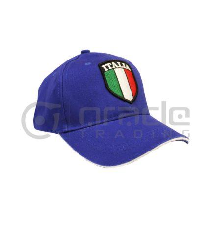 Italia Vintage Hat - Blue